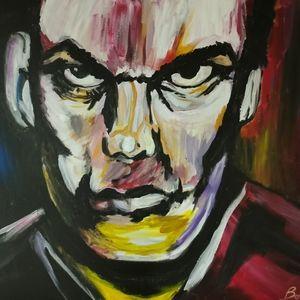 Dexter's portrait peint